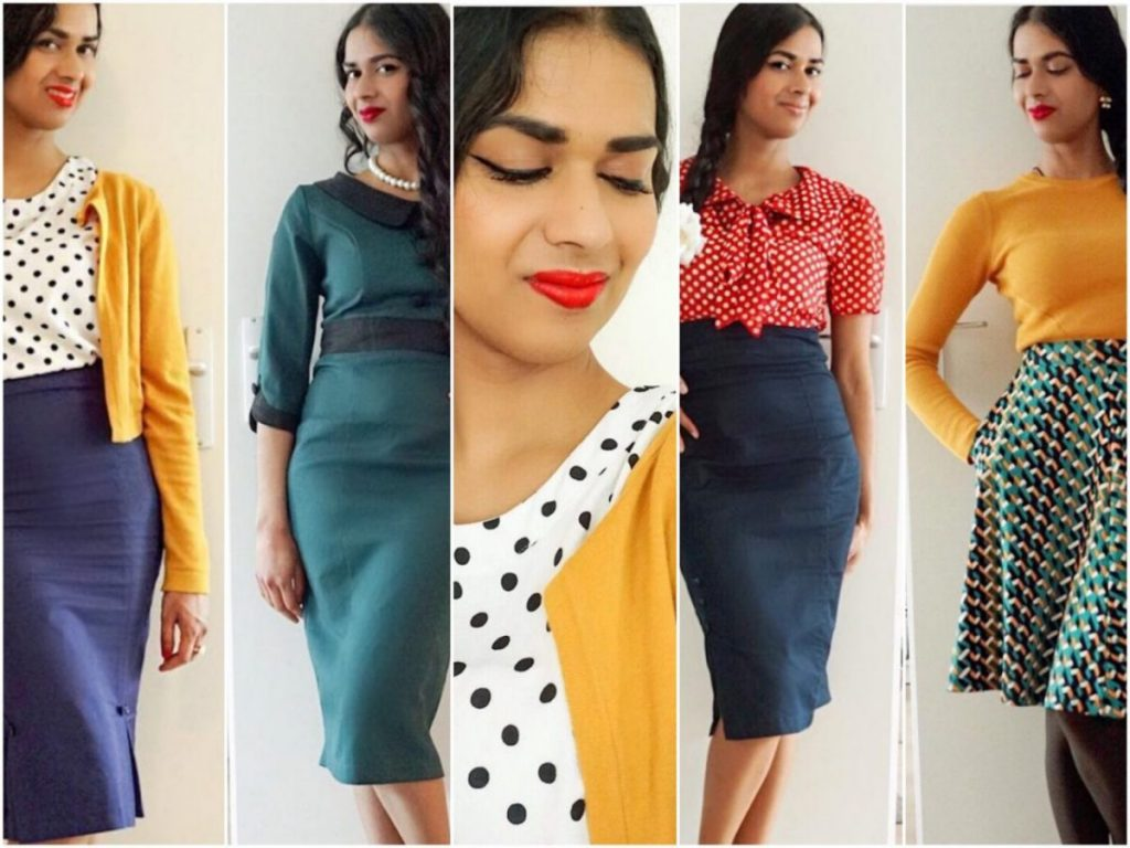 How to: wear retro clothing at work