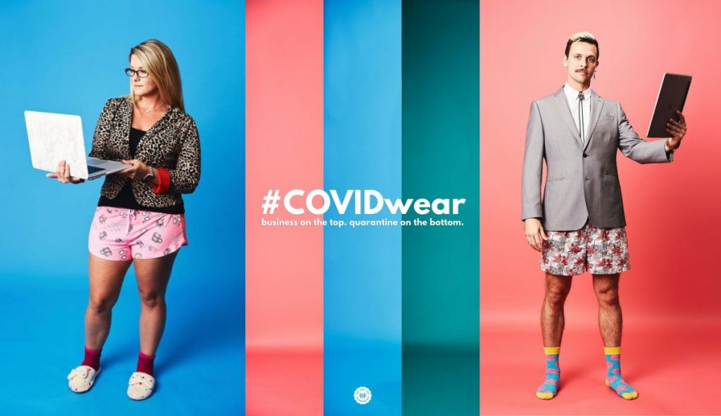 COVIDwear shows hilarious working from home clothes