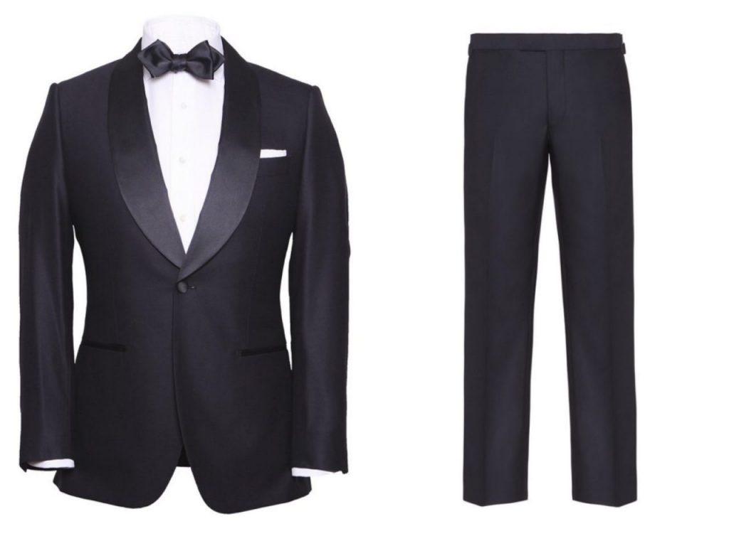 Suit on! Sharp as James Bond