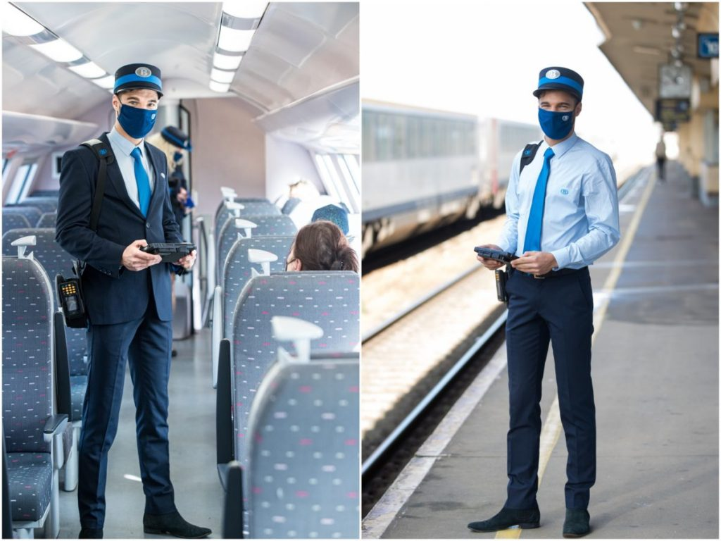 Train conductor | Photos: © NMBS