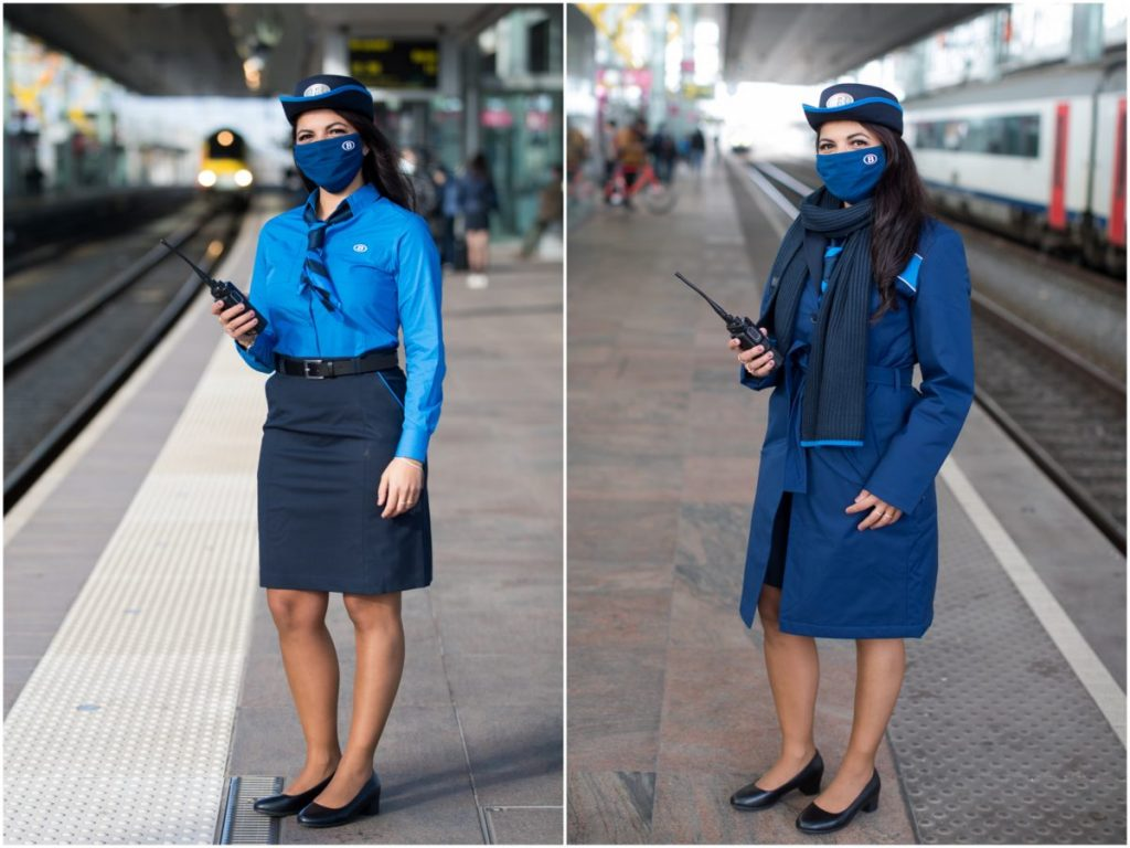 New uniform for Belgian rail employees
