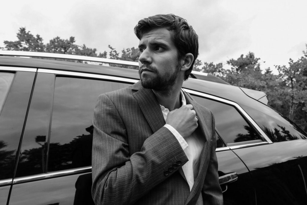 Which is the best suit for male car salesmen?