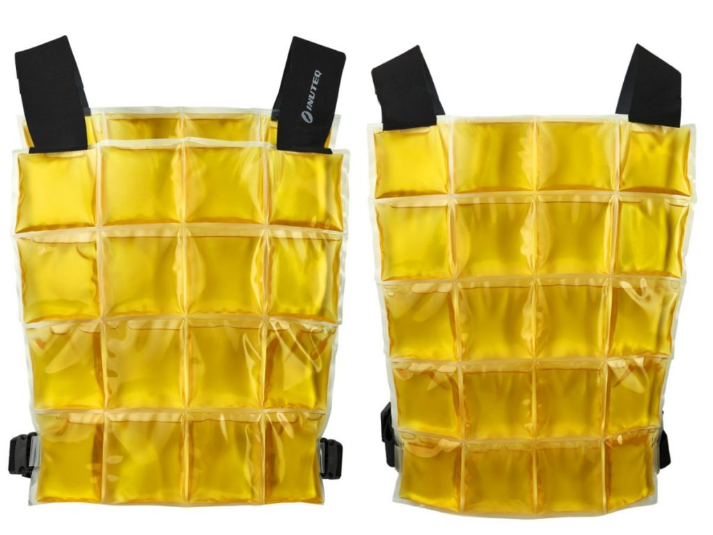 Cooling vest is a proven solution against heat for COVID-19 nurses