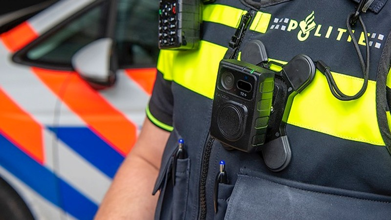 As of this year, all police units will have a bodycam