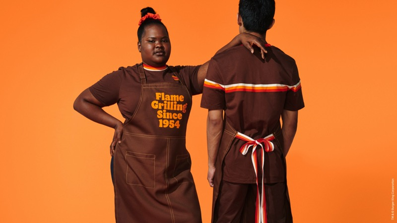 New company clothing for Burger King employees