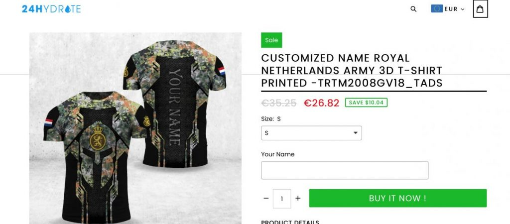 Defense logos misused on clothing