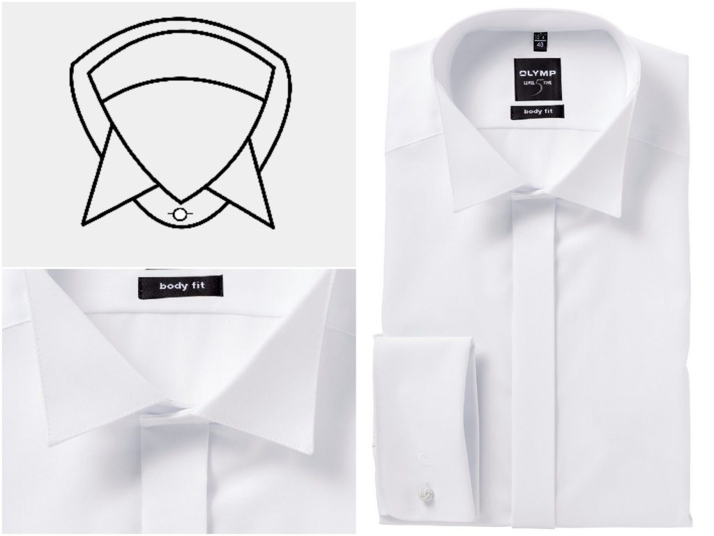 5 different collars for shirts