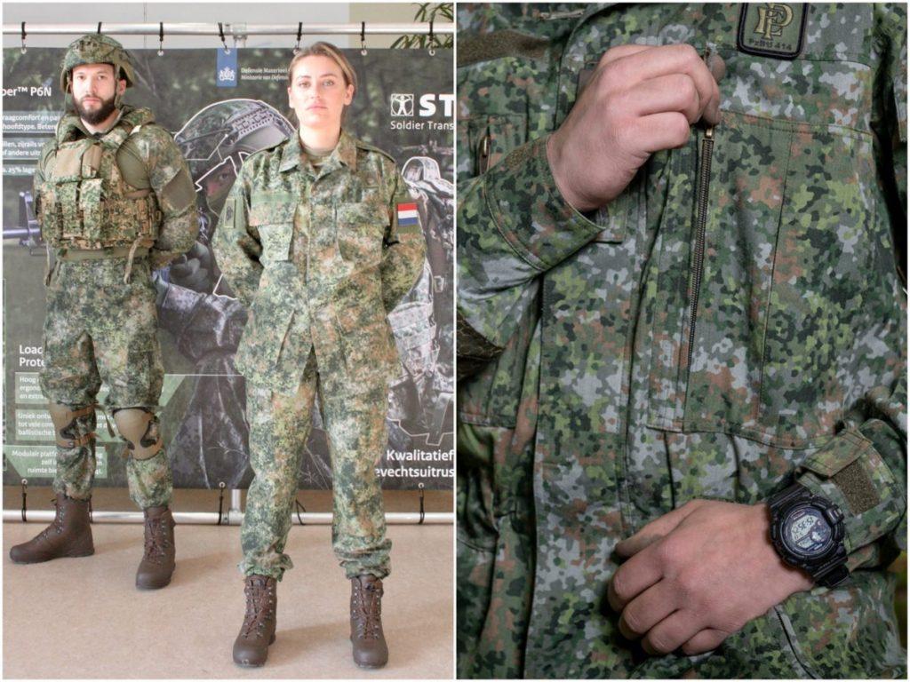 Dutch soldiers get new camouflage pattern