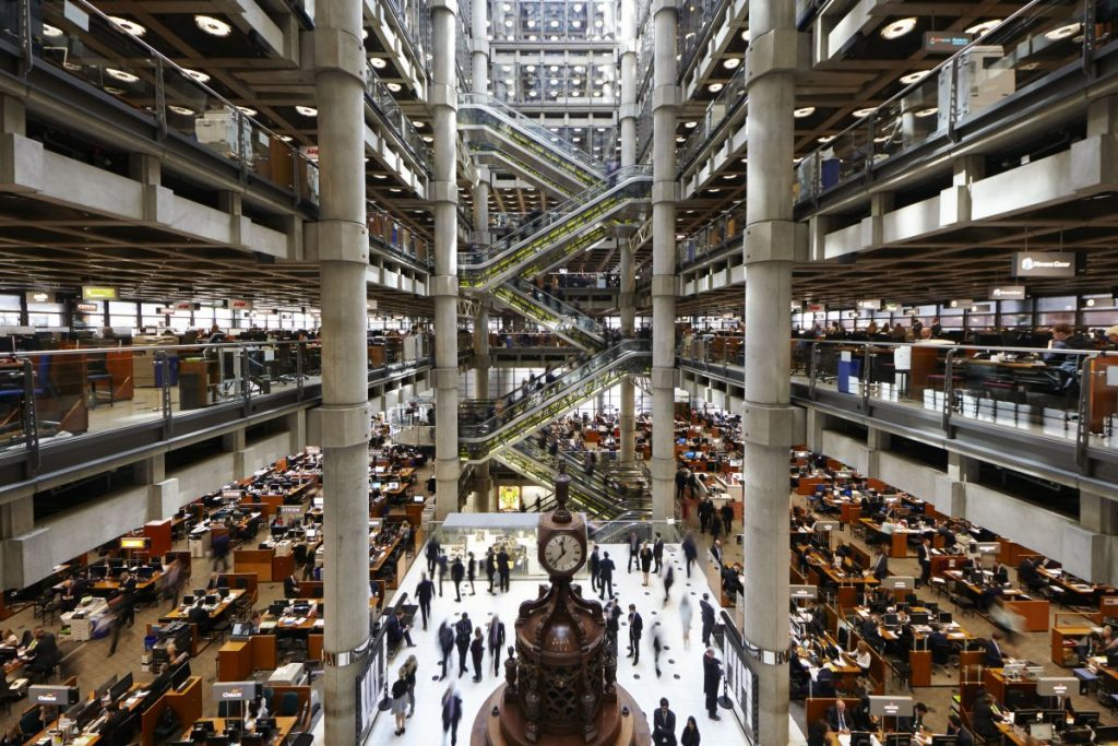 Is Lloyd's of London saying goodbye to the formal dress code?
