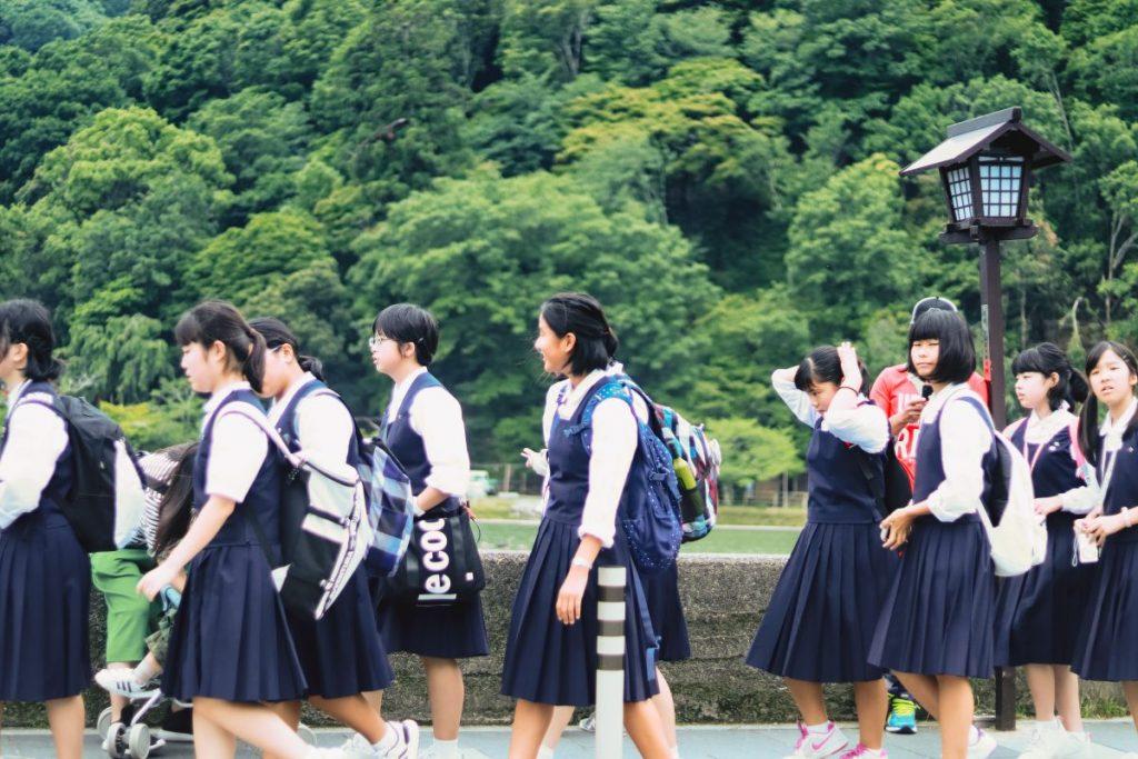Japanese schools dress code violation of human rights