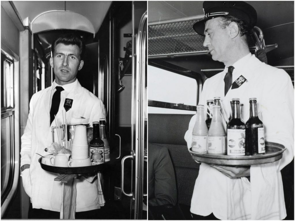 NS rail catering uniform: from the past to present
