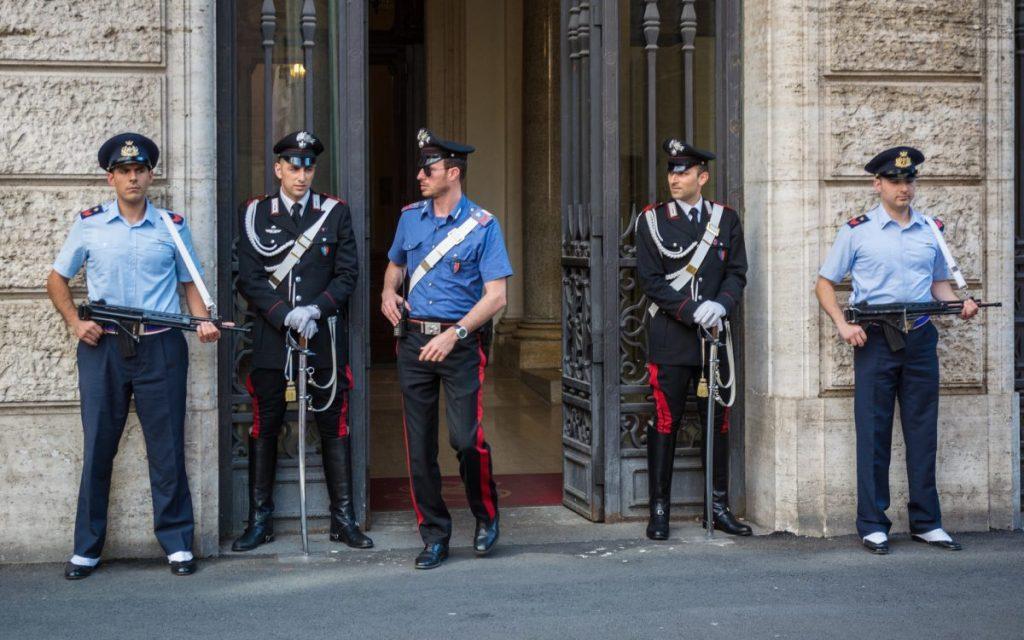 Uniform police