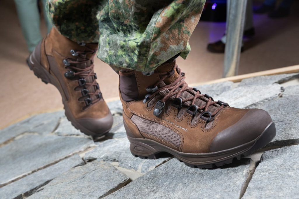 New shoes for the Dutch military