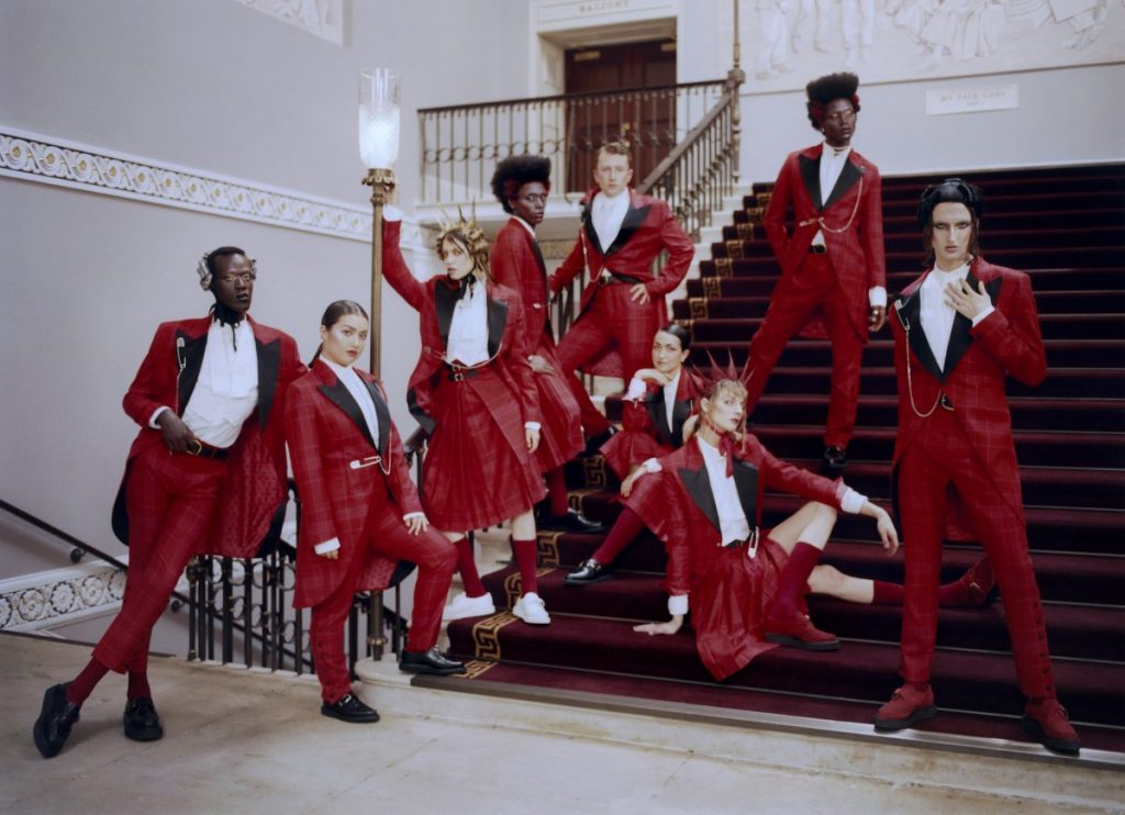London theater dresses staff in stunning uniform
